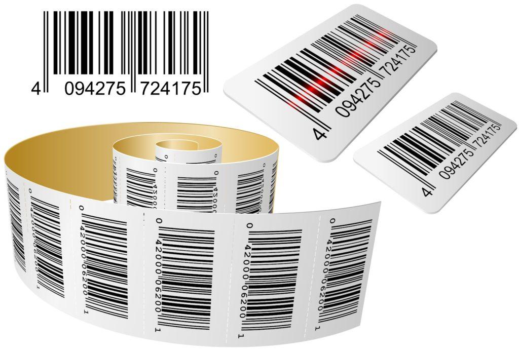 Штрих код и цена товара