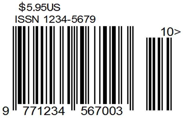 Штрих код на издание