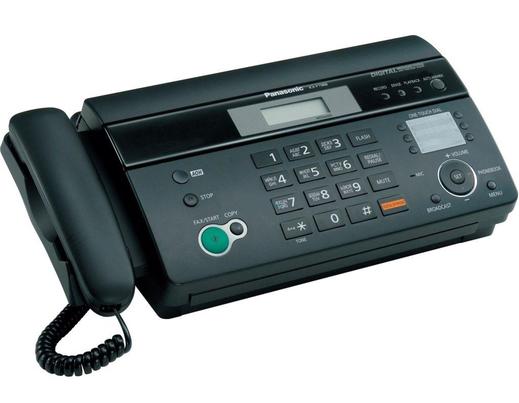 Маркировка телефных аппаратов и факсов