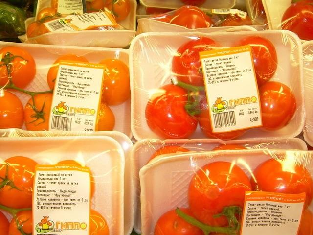 Маркировка фруктов и овощей