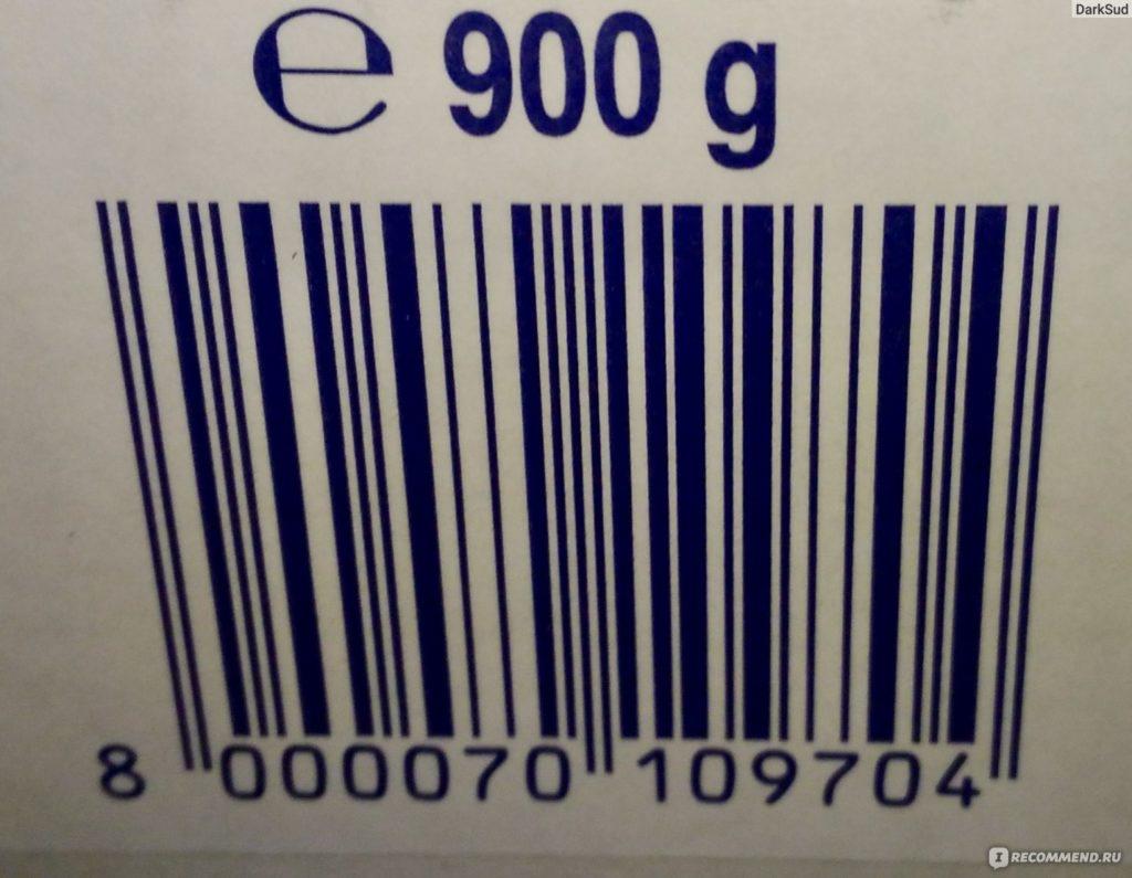 Штрих код для весового товара