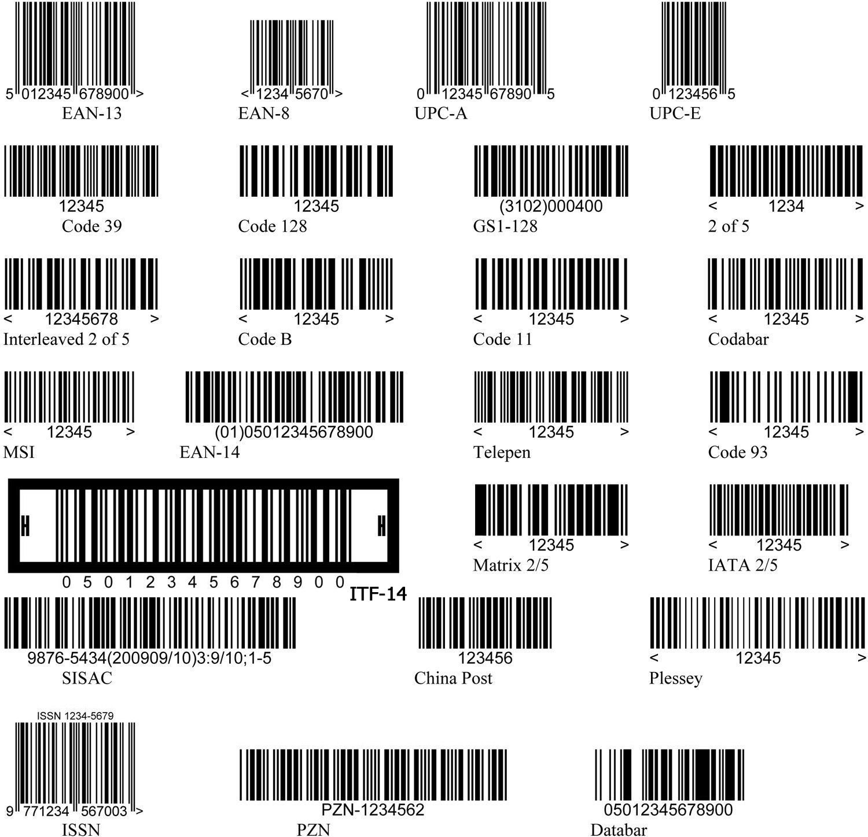 Картинка штрих-кода онлайн