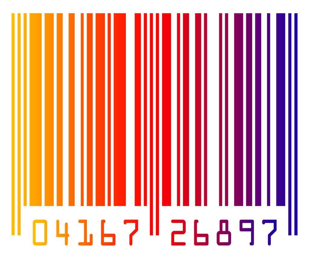 Штрих-код на открытках