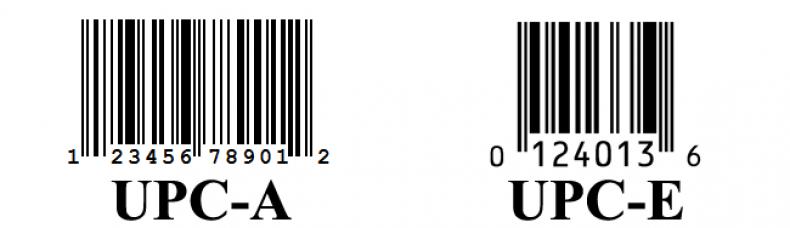 UPC-A Коды
