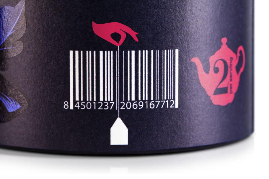 Штрих код на упаковке